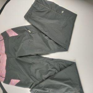 Lululemon women's pants loose size 8 grey/pink